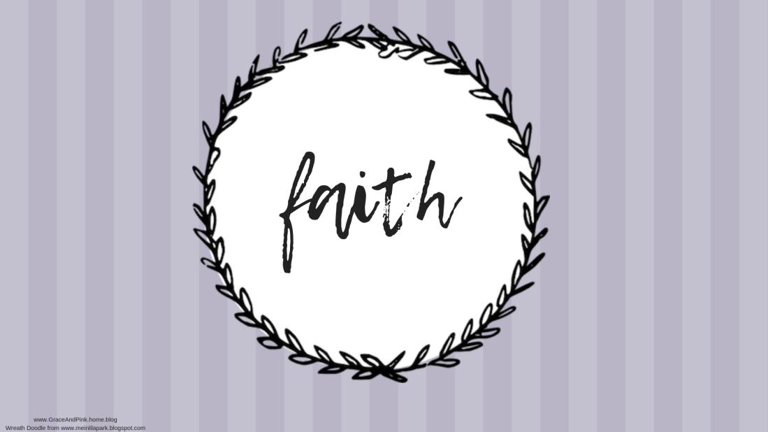 faith wallpaper gray