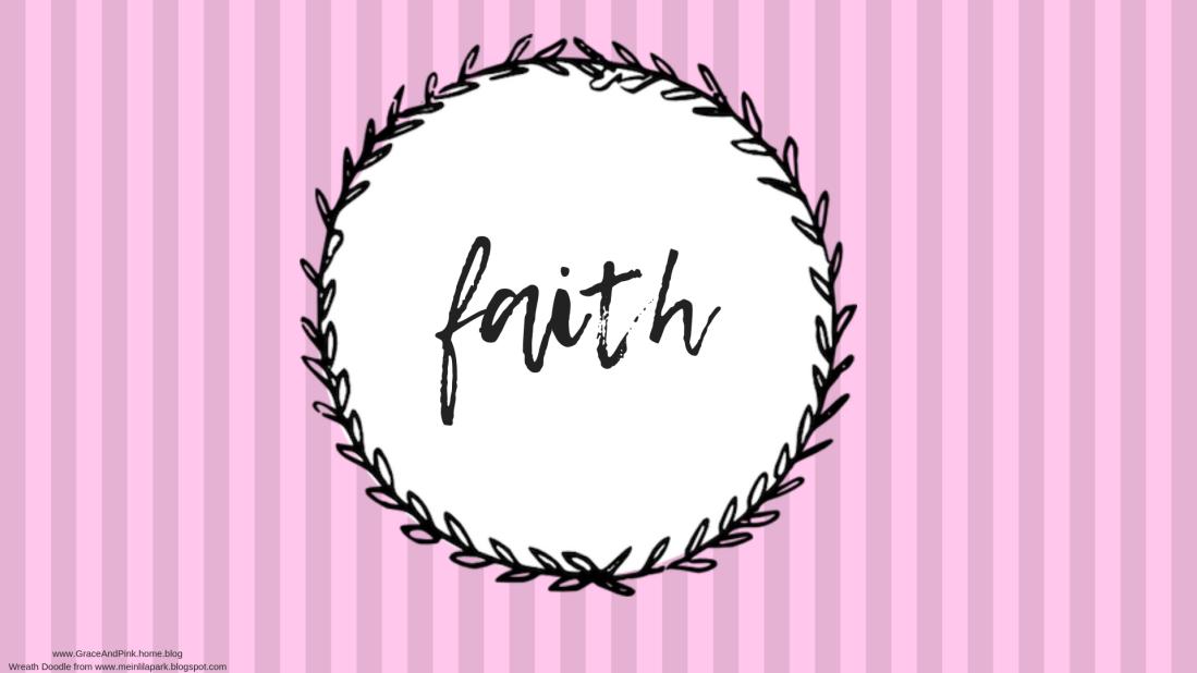 faith wallpaper pink